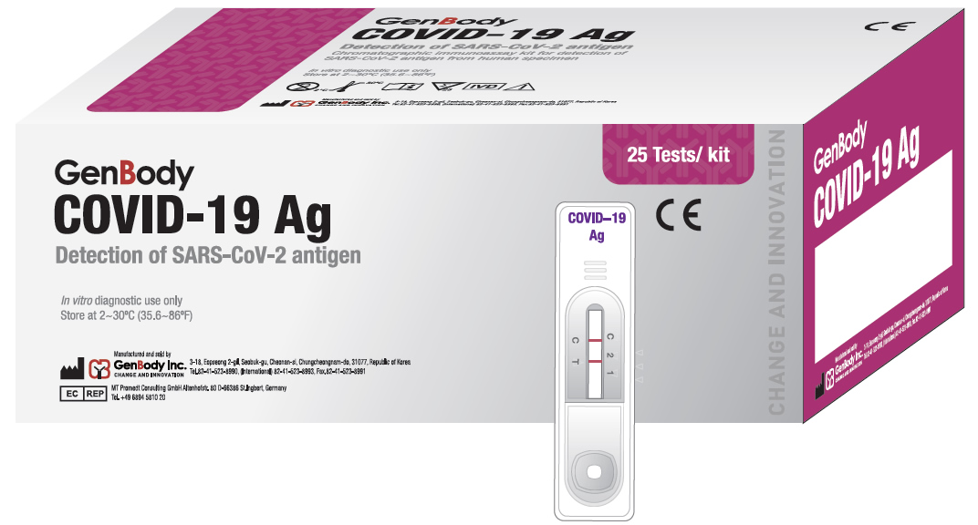 GenBody COVID-19 Ag (CE-IVD)